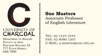 Name Card (Sue)