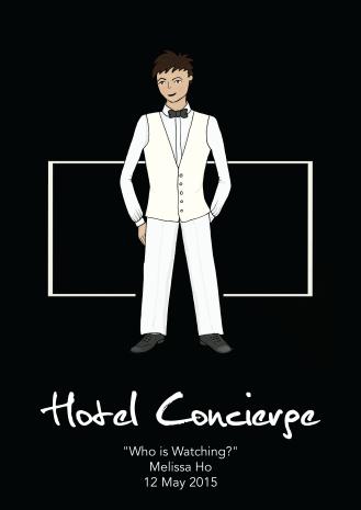 NSW Costume Rendering - Hotel Concierge